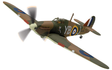Hawker Hurricane Mk.1 N2359/YB-J, 'Winged Popeye', RAF No.17 Sqn
