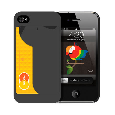 iPUP Dark Gray for iphone 4/4s