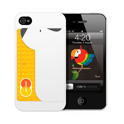 iPUP White for iphone 4/4s