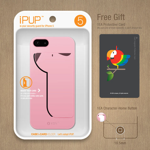 iPUP 5 pink for iphone  5 / 5S / SE