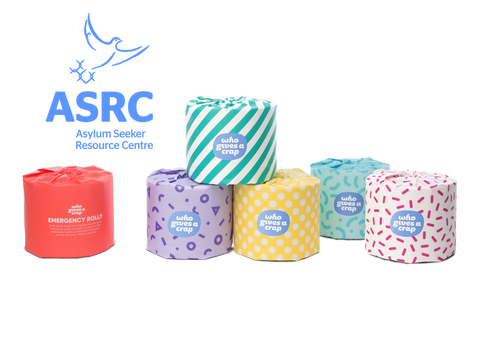 Donate a box of toilet paper to the ASRC!