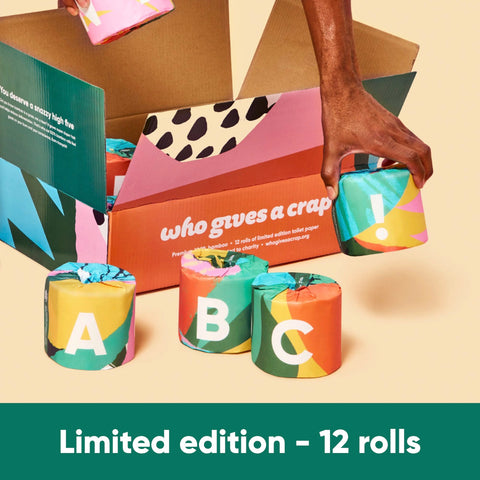 The A – Z Edition - 12 Double Length Rolls