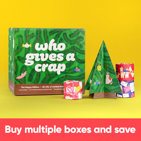 Buy Multiple Boxes and Save - Happy Edition Toilet Paper