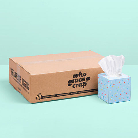 Add 12 Boxes of Forest Friendly Tissues