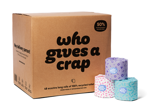 Buy Multiple Boxes and Save - 100% Recycled Toilet Paper