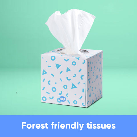 CF - Forest Friendly Tissues - 12 Boxes