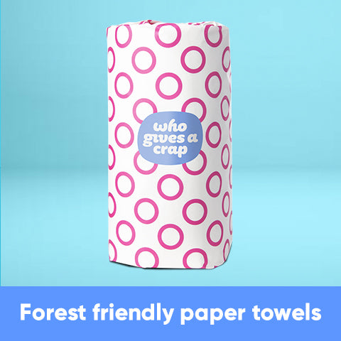 CF - Forest Friendly Paper Towels - 6 Double Length Rolls