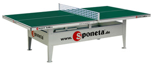 Sponeta Activeline 10mm Outdoor Deluxe Table Tennis Table - Prestige Tables