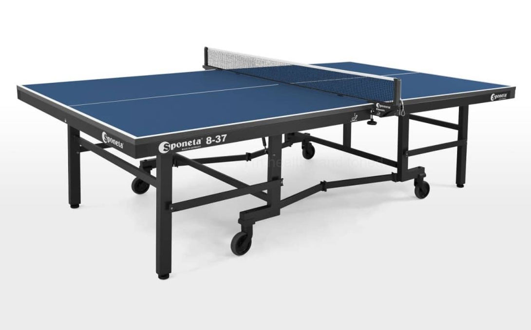 Sponeta Championline Super Compact Spacesaver Indoor Table Tennis Table - Prestige Tables