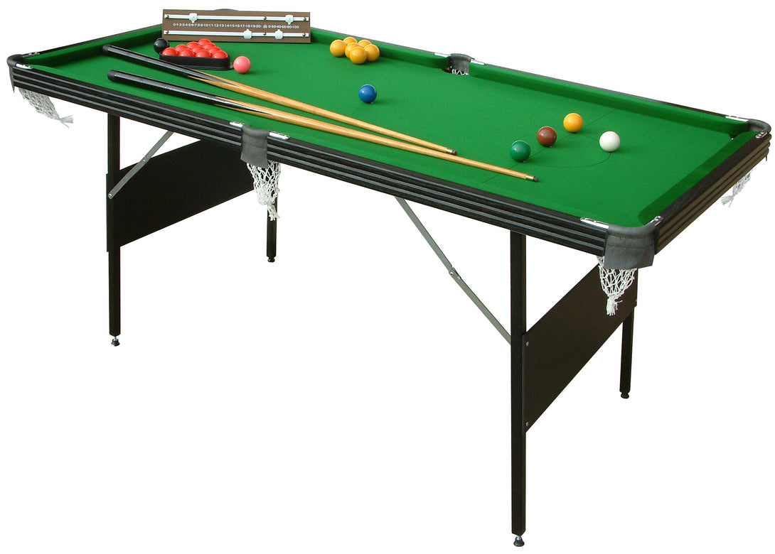 Crucible 6 foot 2 in 1 Foldup Games Table - Prestige Tables