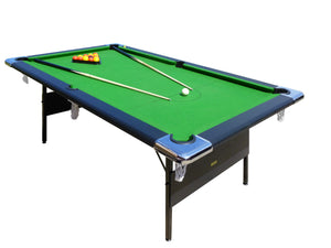 Hustler Fold Up 7 foot English Pool Table - Prestige Tables