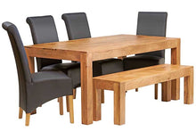 Indian Hub Toko Light Mango Dining Table - Prestige Tables