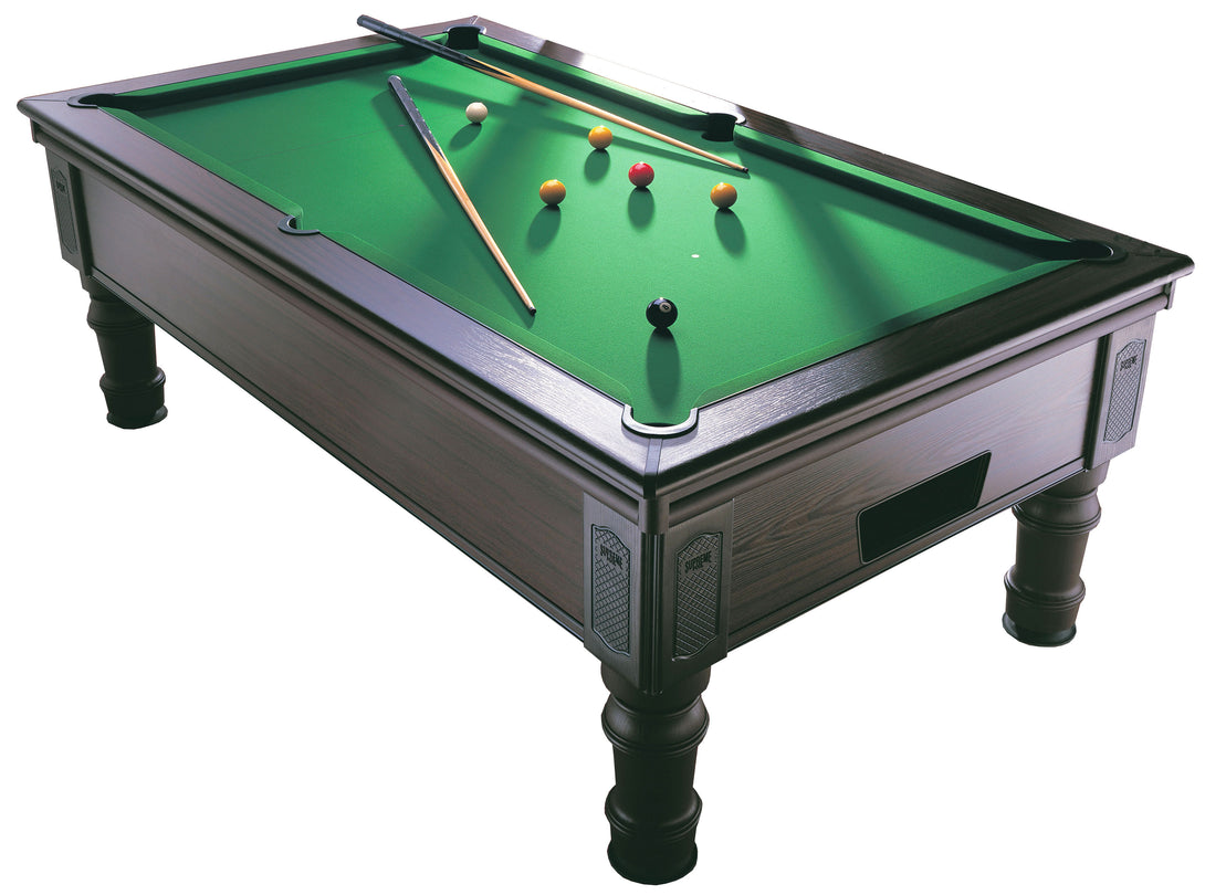 Prince 6 and 7 foot Championship Slate Bed Pool Table - Prestige Tables