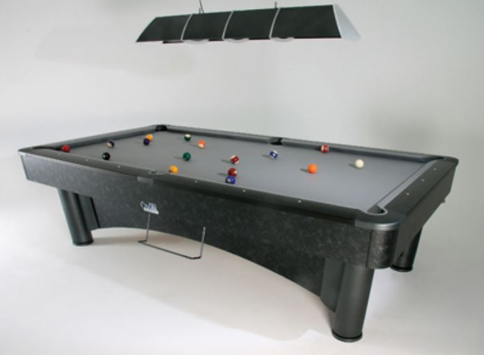 SAM K Steel II American Slate Bed Pool Table - Prestige Tables