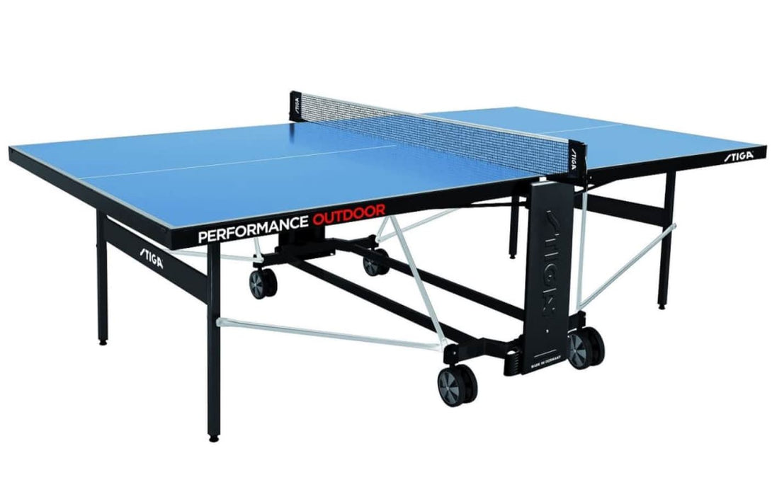 Stiga Performance Outdoor 5mm Table Tennis Table - Prestige Tables