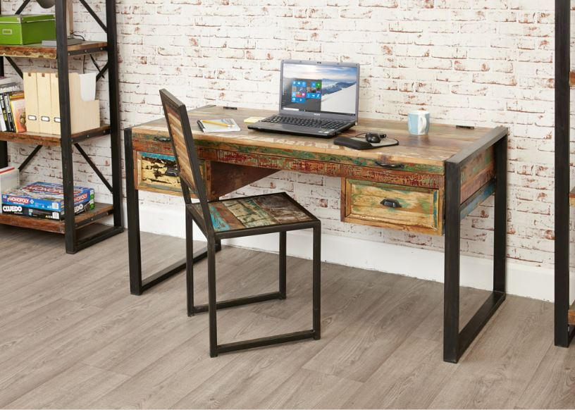 Baumhaus Urban Chic Laptop Desk/ Dressing Table - Prestige Tables