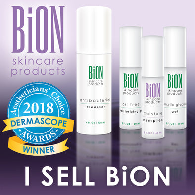 BiON Skin Care New Packaging