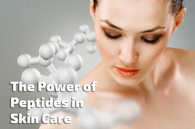 So how do peptides in skin care products make your skin look younger? - Skin Care By Suzie