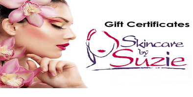 Buy your Gift Certificates For Salon Service Online - Skin Care By Suzie