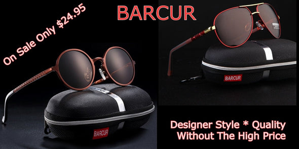 Barcur Designer Sunglasses - Skin Care By Suzie