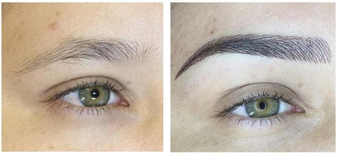 Liquid Eyebrow Pen Before & After
