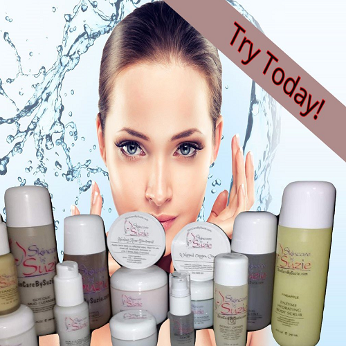 Skin Care By Suzie Products