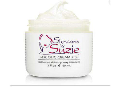 15% Glycolic Cream - Glycolic Acid -Skin Care By Suzie, free shipping & rewards