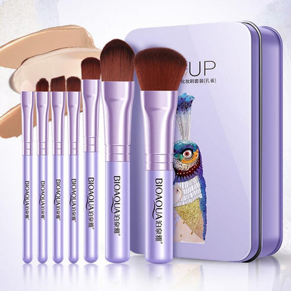 BIOAQUA 7pcs/set Makeup Brushes Set - Skin Care By Suzie
