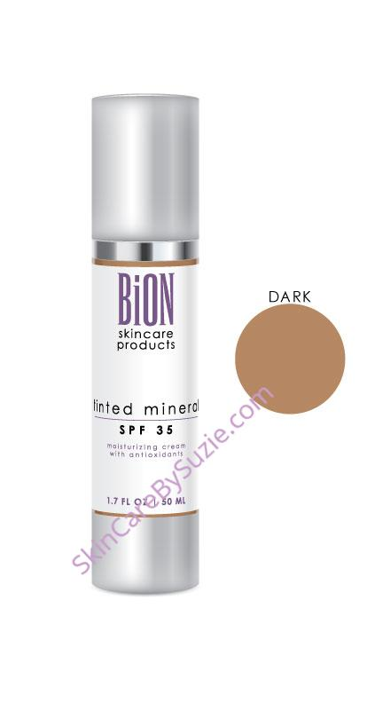 BiON Tinted Mineral SPF 35 Suncreen Dark