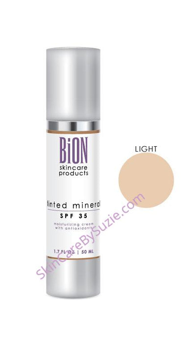 BiON Tinted Mineral SPF 35 Suncreen Light