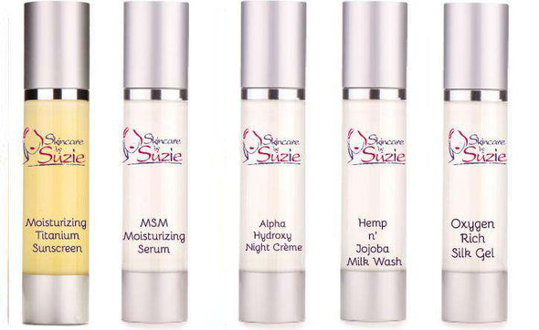 Natural/ Vegan Anti-Aging Travel/Trial kit - Specialty -Skin Care By Suzie, free shipping & rewards