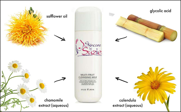 Glycolic Multi-Fruit Cleansing Milk