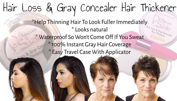 Hair Loss/ Hair Thickener & Gray Hair Concealer