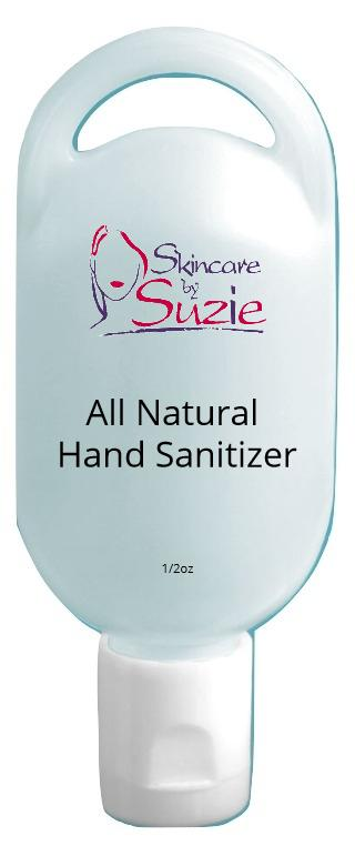 All Natural Hand Sanitizer - Skin Care By Suzie