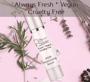 Vegan MSM Moisturizing Serum - serum -Skin Care By Suzie, free shipping & rewards