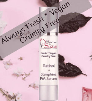 VEGAN Retinol + Samphira PM Serum - Specialty -Skin Care By Suzie, free shipping & rewards