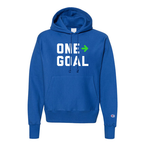 Champion x Pelotonia Reverse Weave Hooded One Goal Sweatshirt