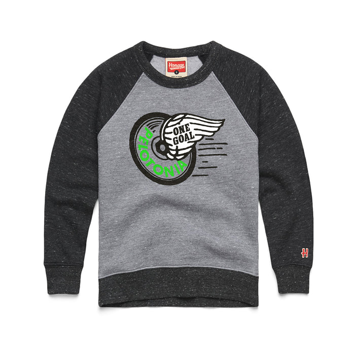 Homage x Pelotonia Youth Crewneck