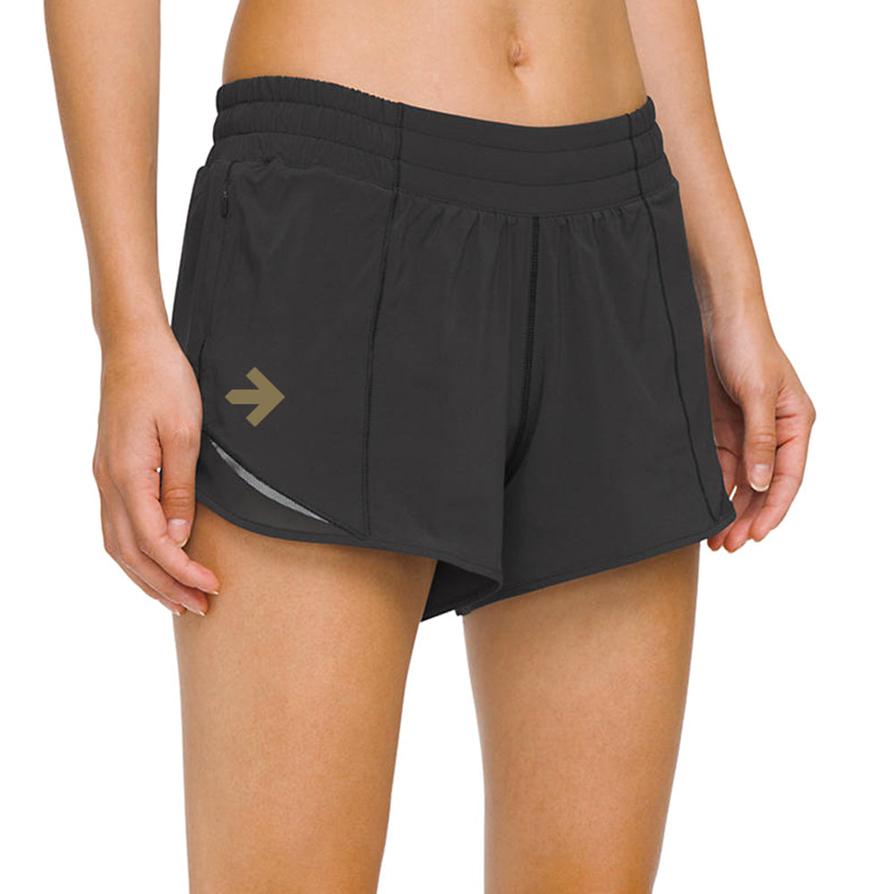Lululemon x Pelotonia Hotty Hot Short II (Long) 4""