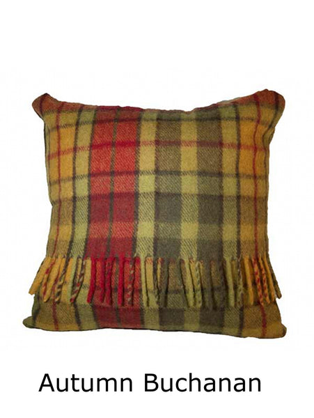 Tartan Wool Pillows