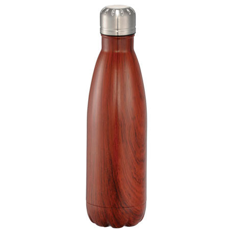 Beverage Ware: Native Wooden Copper Vacuum Insulated Bottle 17oz
