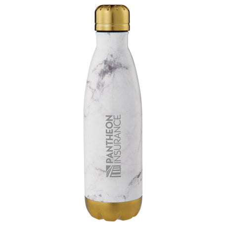 Beverage Ware: Copper Marble Vacuum Insulated Bottle 17oz
