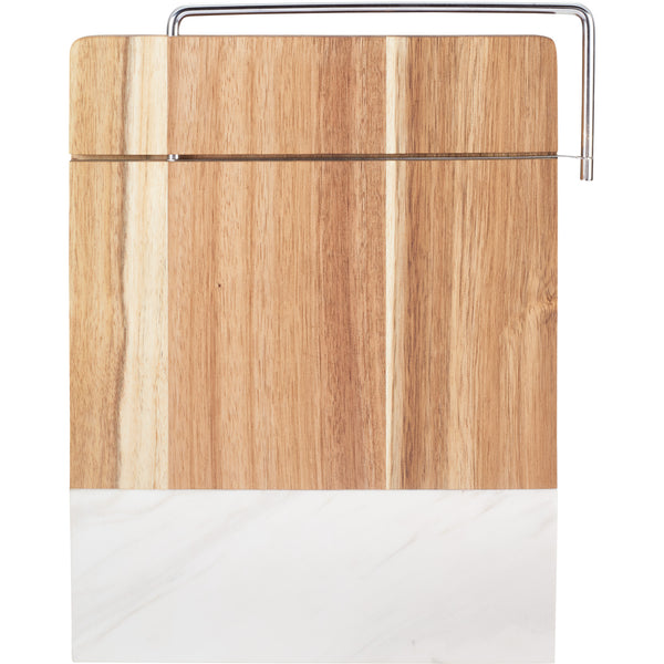 House Warming: Marble and Acacia Wood Cheese Cutting Board