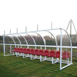 Premier Curved Socketed Team Shelters