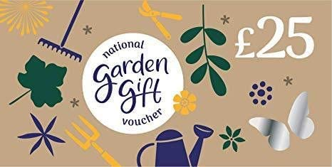£25 National Garden Gift Voucher