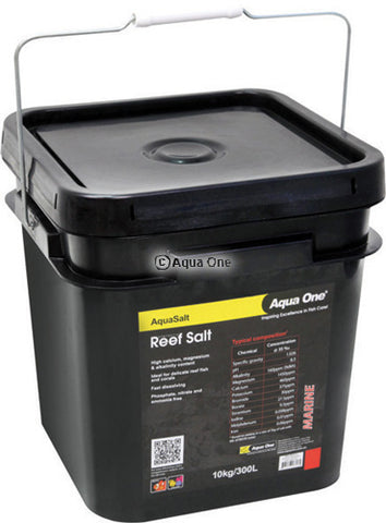 Aqua One Synthetic Marine Reef Salt 10kg Bucket