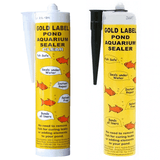 Gold Label Pond & Aquarium Sealer 290g (Black and Clear)
