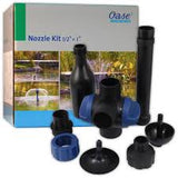 "Oase Fountain Nozzle Kit with 1/2"" & 1"" Adapters"