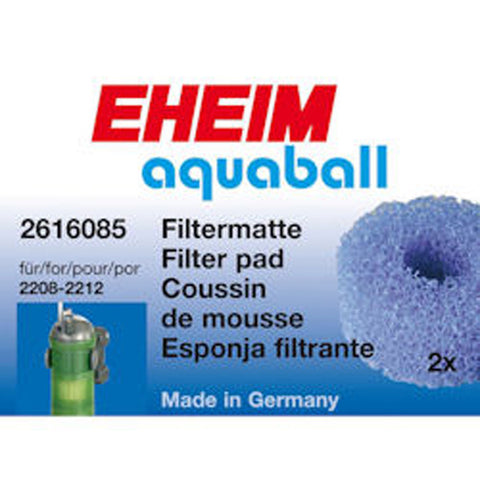 EHEIM Coarse Filter Pads 2208-2212/Aquaball 60-180 (2 pack)