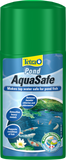 Tetra Pond AquaSafe water dechlorinator.